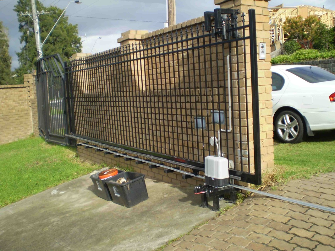 Automated Sliding Gate A2z Electricals